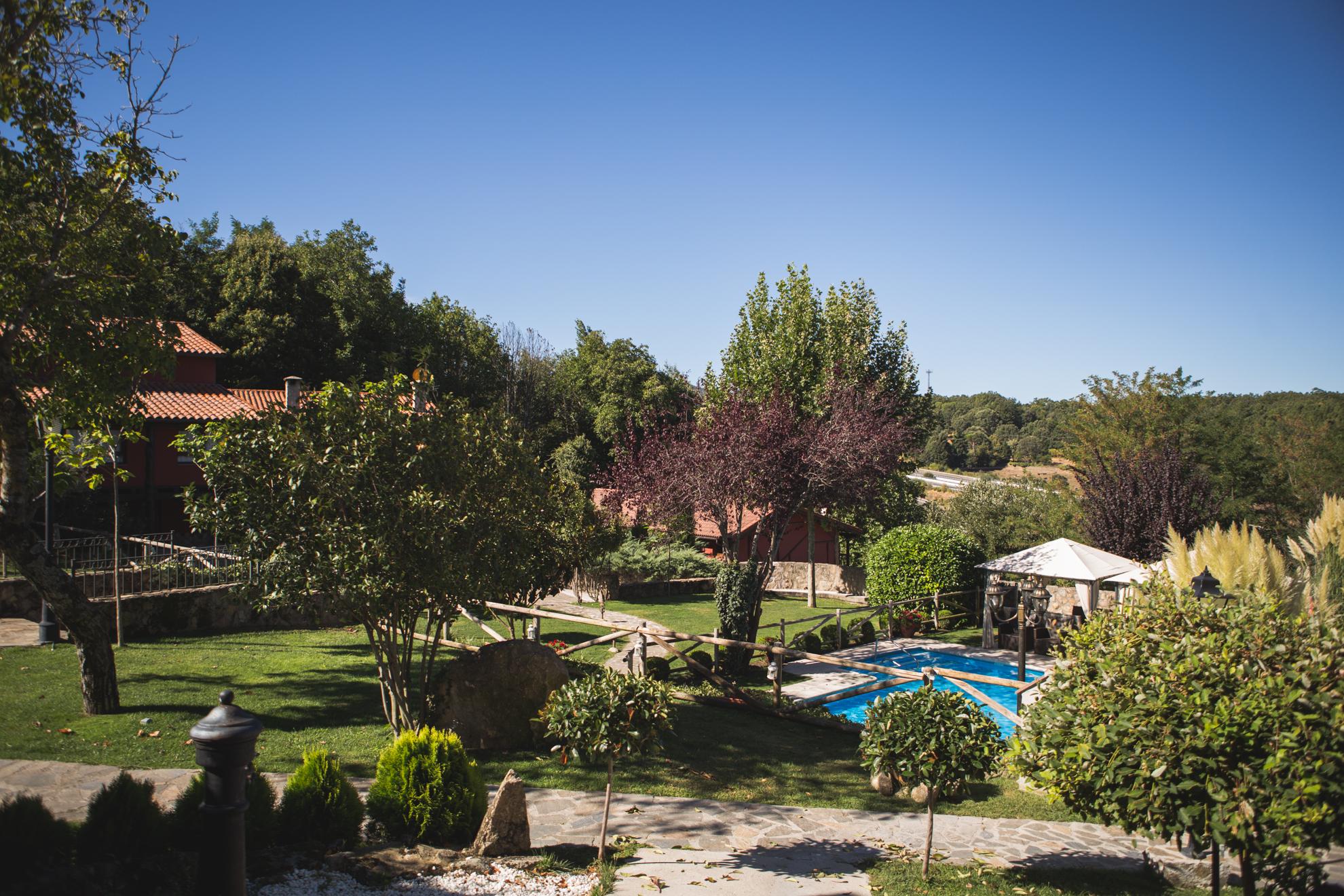 El Complejo Casa Rurales En B Jar El Rinc N De